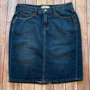 Levis Jean Skirt Size 6